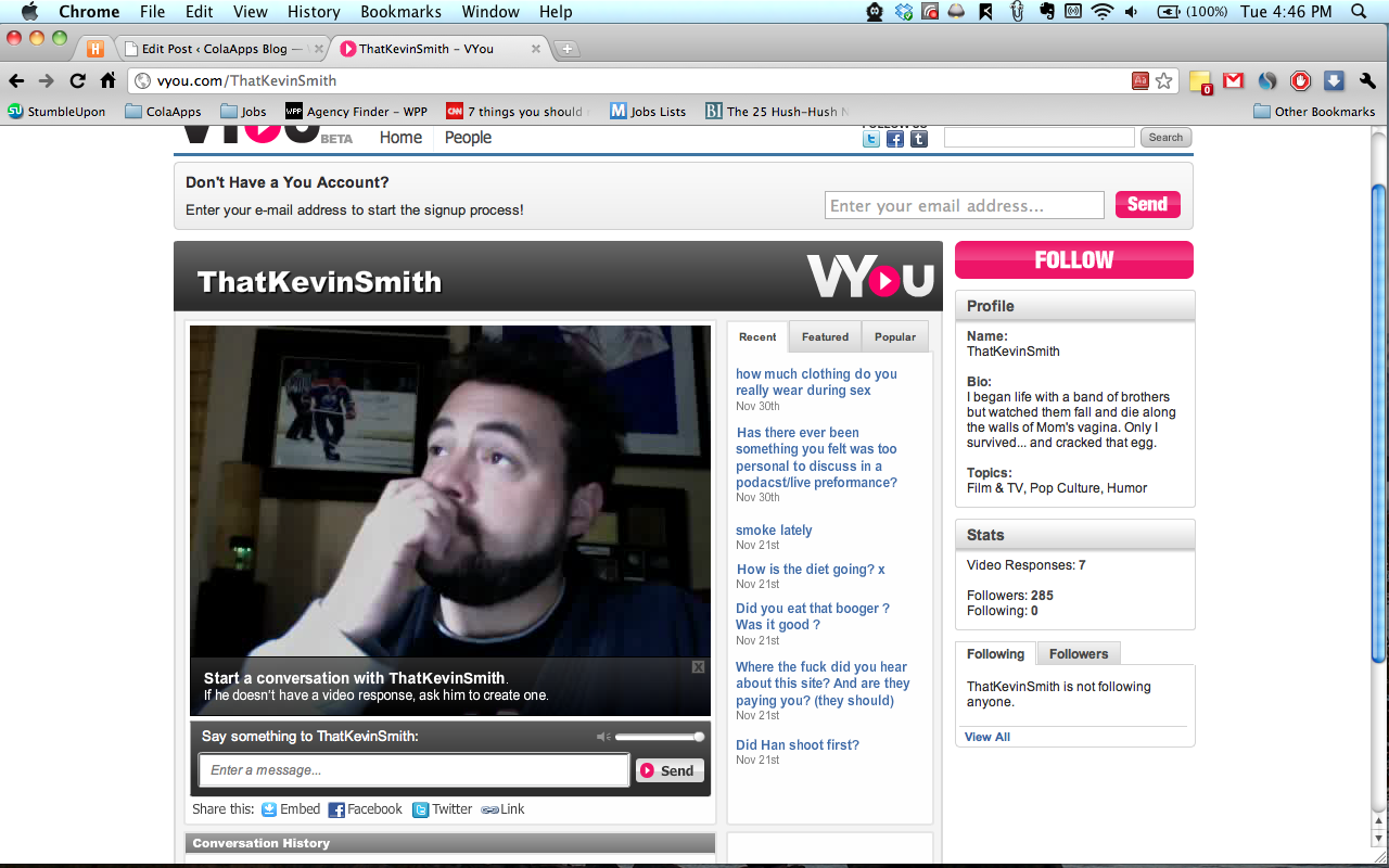 vyou kevin smith
