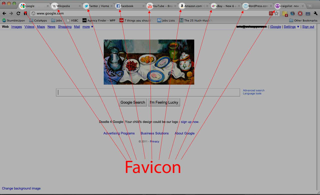 favicon screenshot