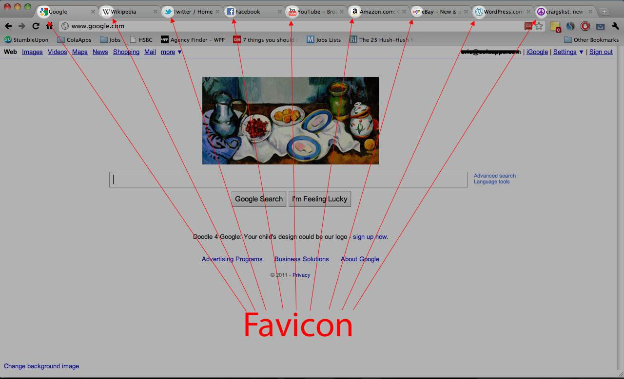 favicon screenshot