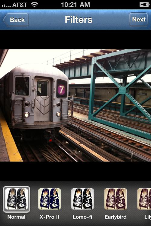 instagram subway photo