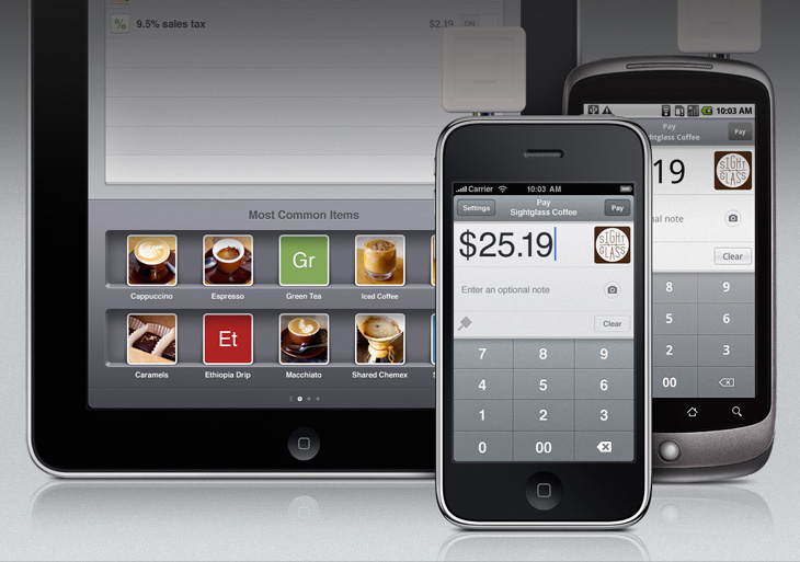 square ipad iphone android mobile payment
