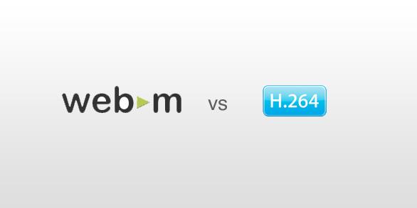 webm vs h.264