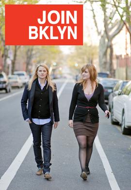 JoinBklyn Co-founders Amber Lee and Hannah Krieswirth