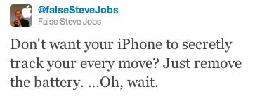 Steve Jobs Tweet