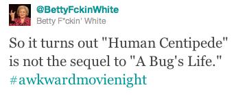 Betty White Tweet