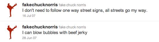 Chuck Norris Twitter