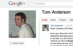 Myspace Co-founder on Google+