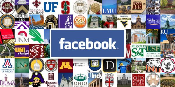 Universities Facebook