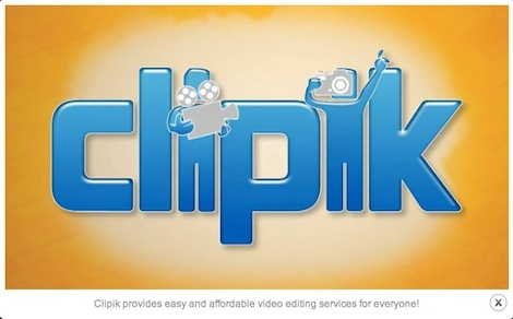 Clipik video editor startup company
