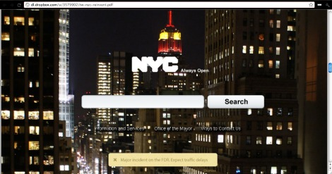 Reinvent NYC.gov hackathon winner - Best User Interface