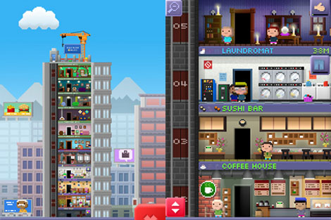 Tiny Towers app