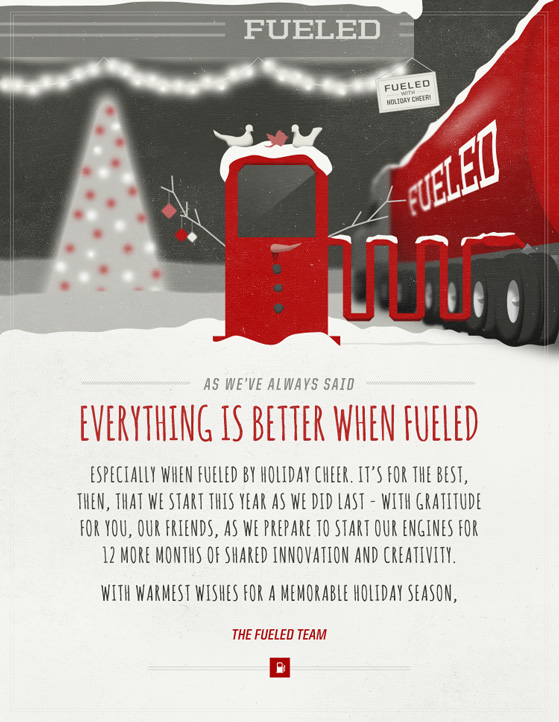 The Fueled 2011 Holiday Card