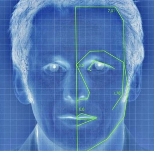 Facial recognition to identify friends in Facebook
