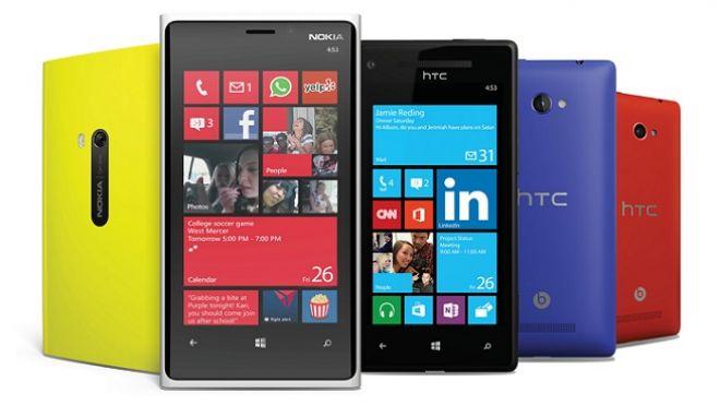 Microsoft Windows Phone 8 group portrait