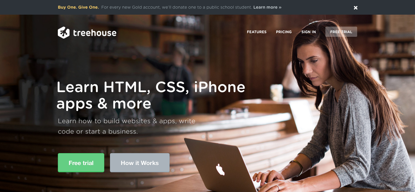 Learn Web Design Web Development and More Treehouse