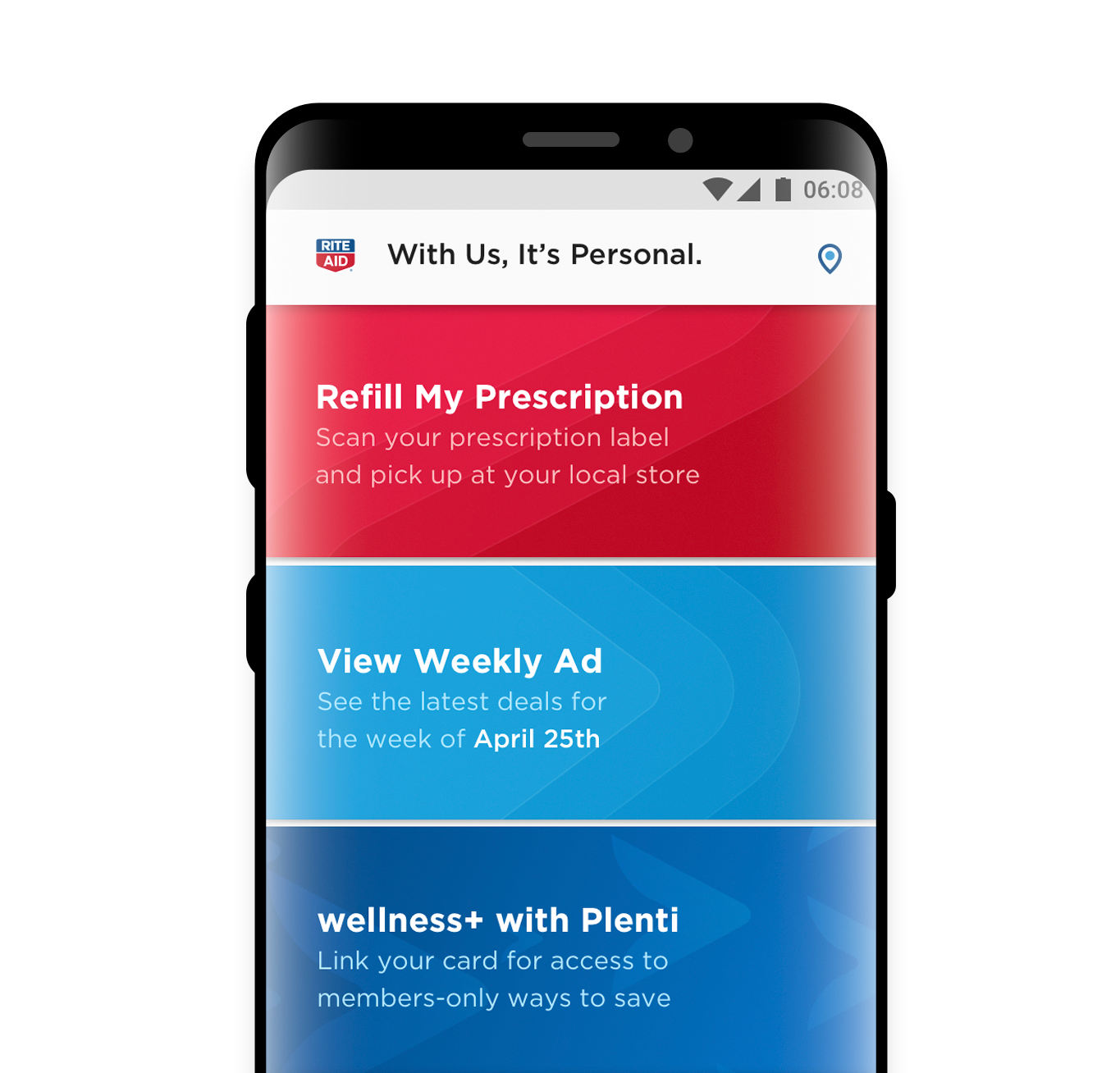 Preview of Rite-Aid app
