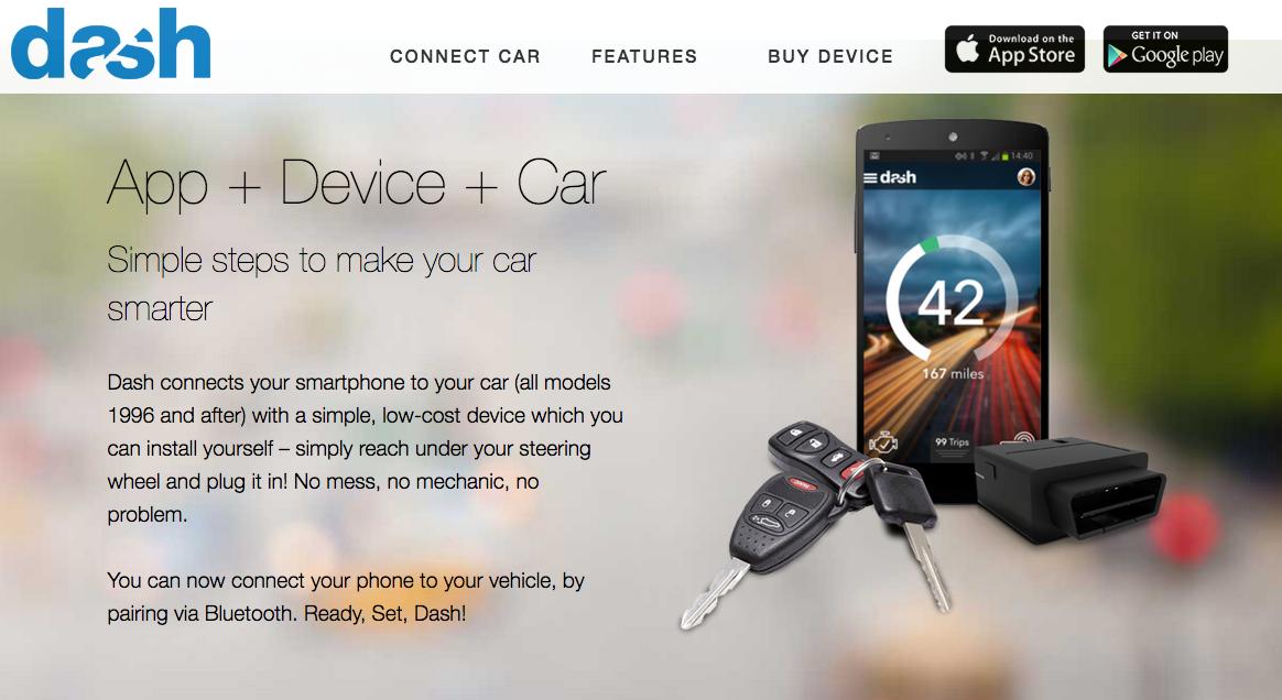 Dash Car App