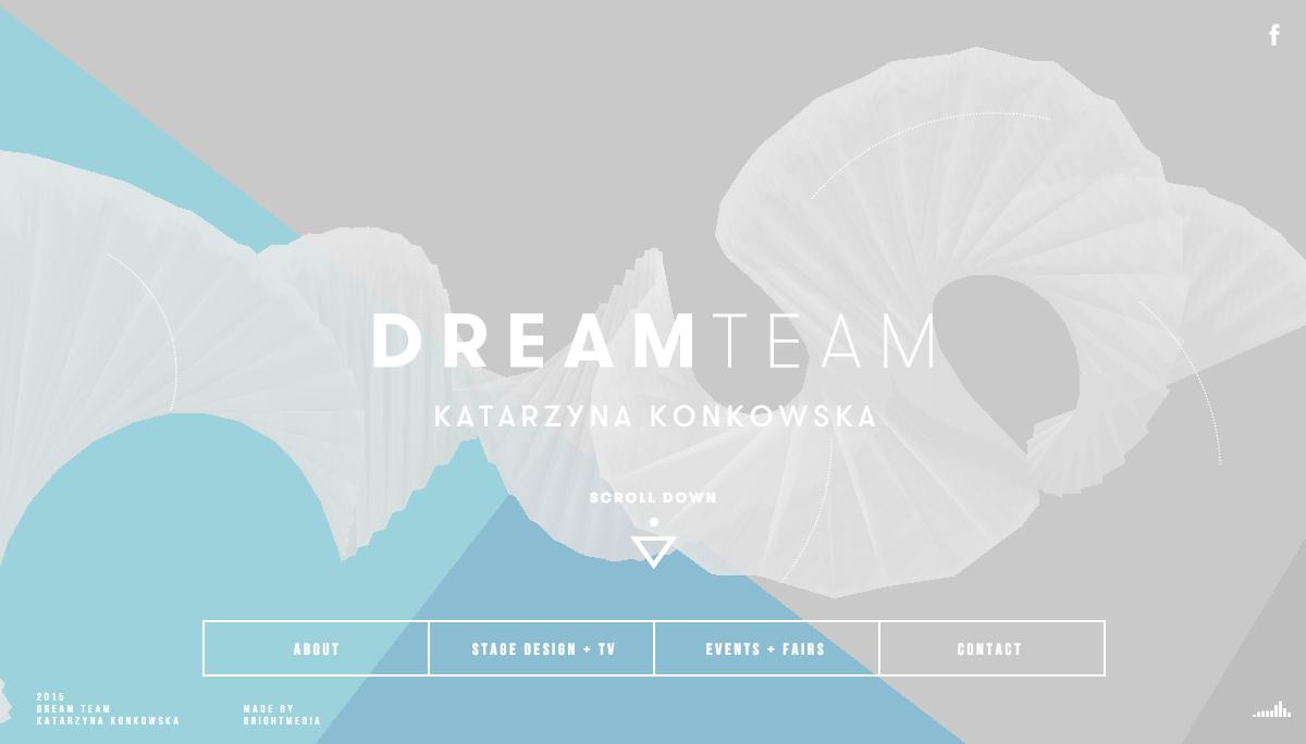 Dream Team KATARZYNA KONKOWSKA Stage Design