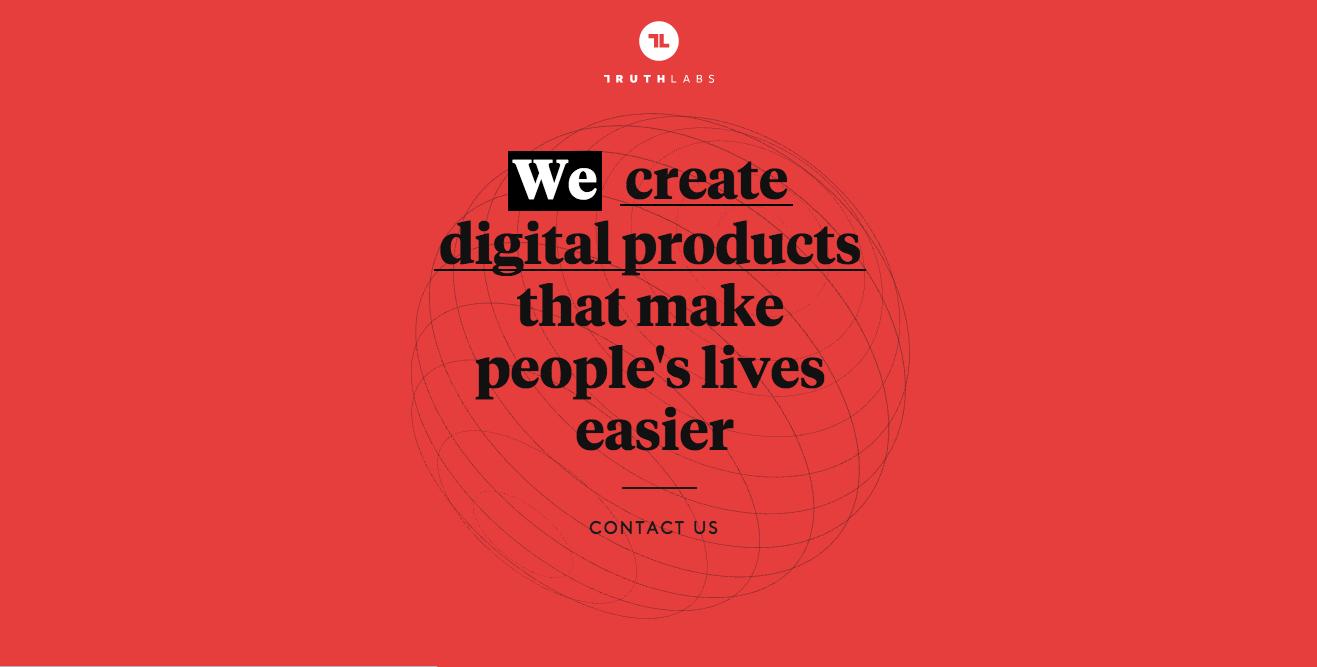 Truth Labs digital design studio