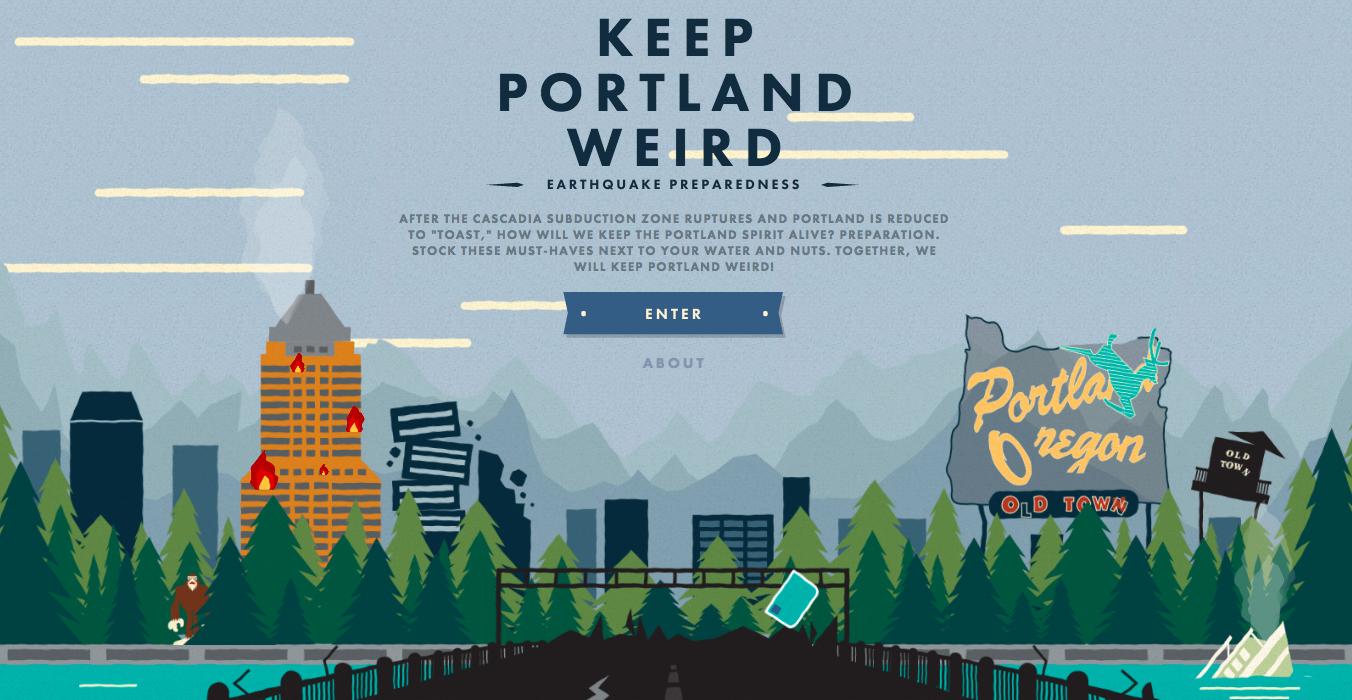 Keep Portland Weird: Earthquake Preparedness