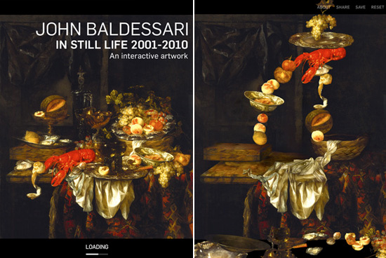 John Baldessari In Still Life 2001-2010