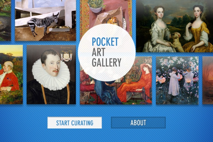 pocket art gallery