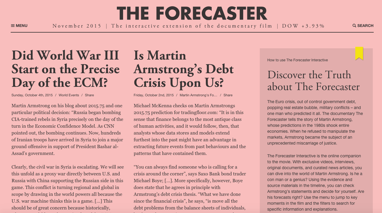 The Forecaster Homepage