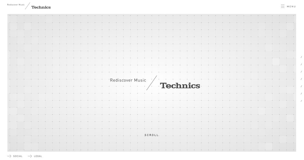 Technics home page