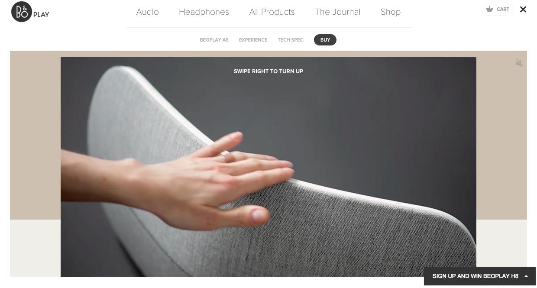 BeoPlay A6 Screenshot