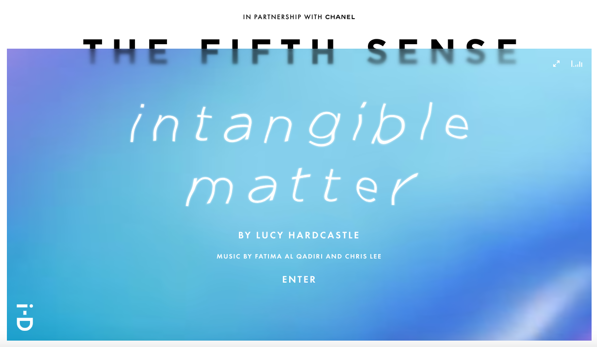 Intangible Matter