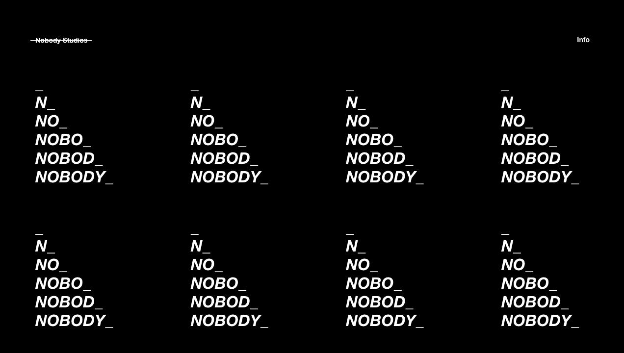 Nobody Studios