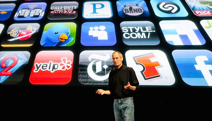 Steve Jobs Discussing the World of Apps