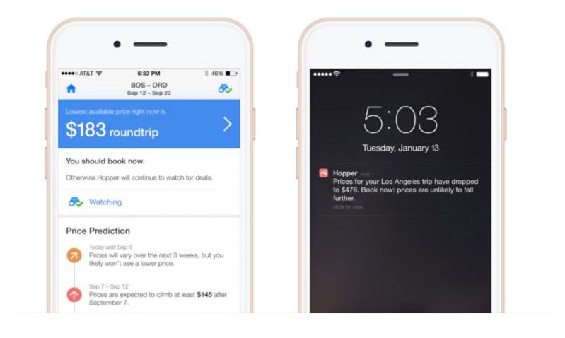 Hopper App Using Push Notifications