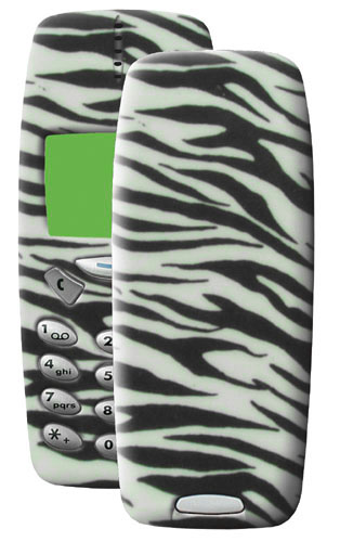 Nokia 3310 Mobile Phone with Zebra Case