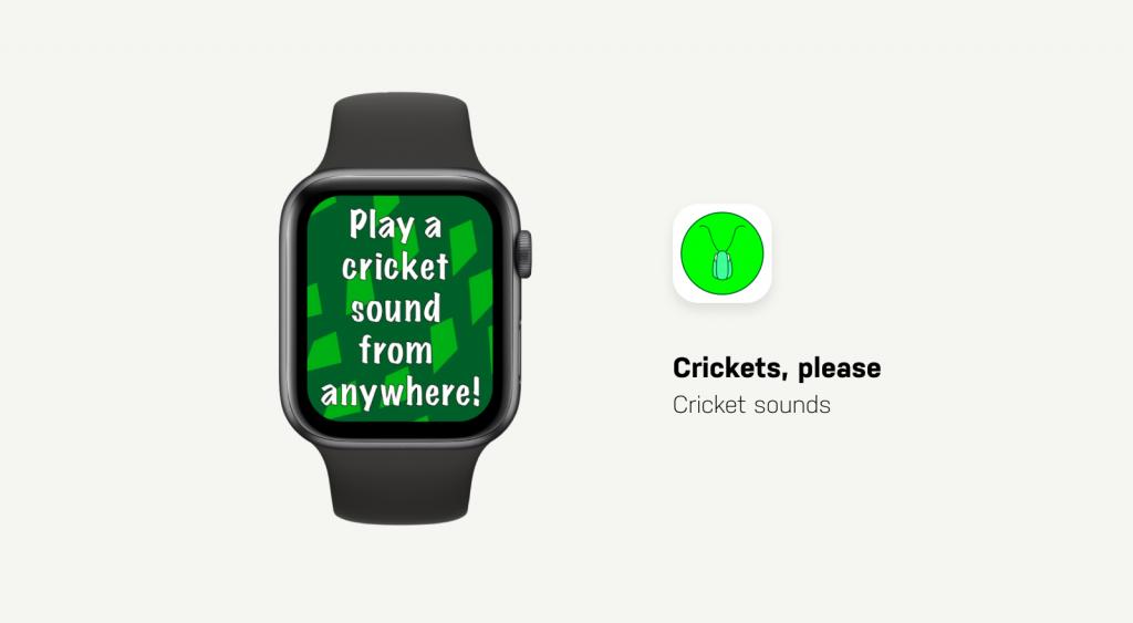 Crickets App Showcase