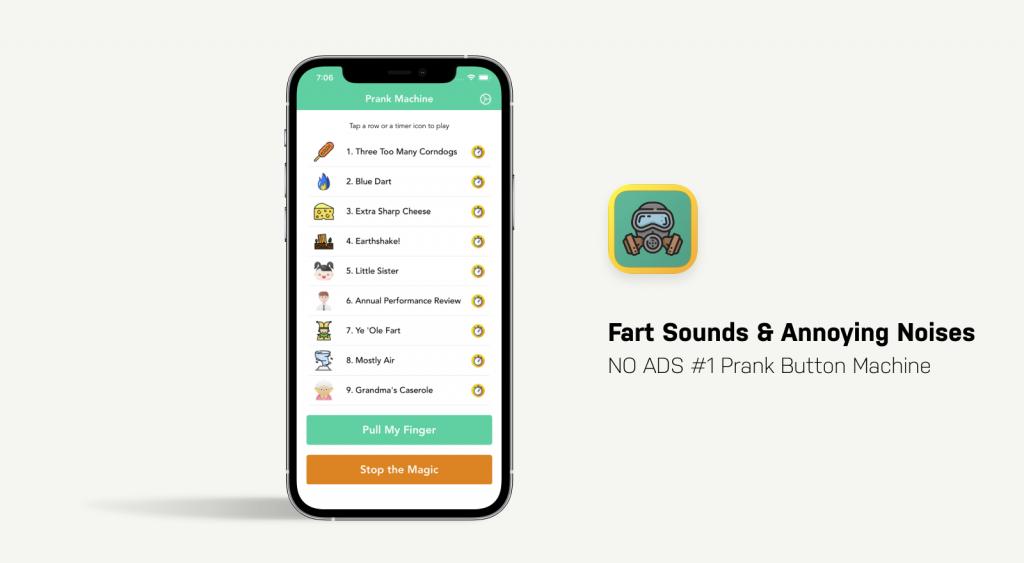 Fart Sounds App Showcase