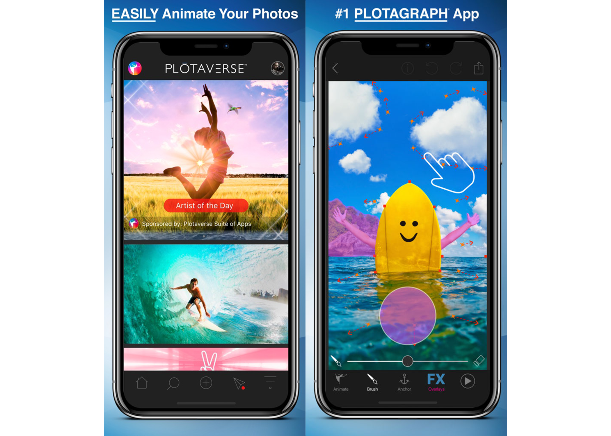 Plotograph app