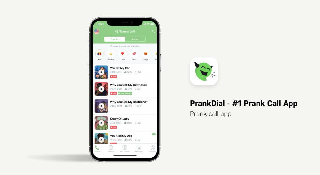 PrankDial App
