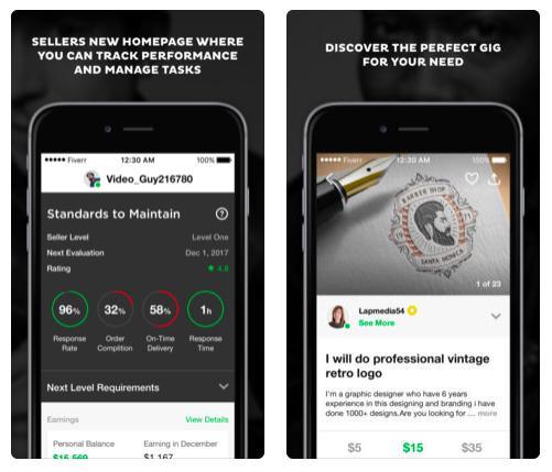 Fiverr-App