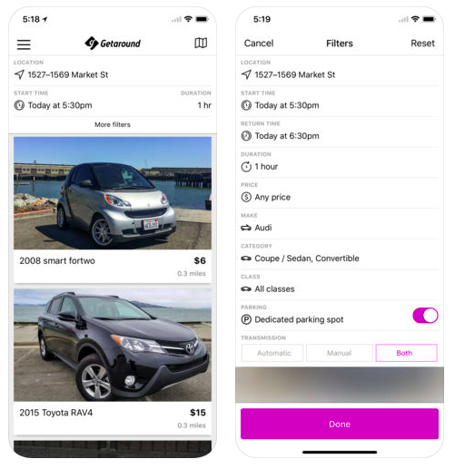 Get-Around-Transportation-App