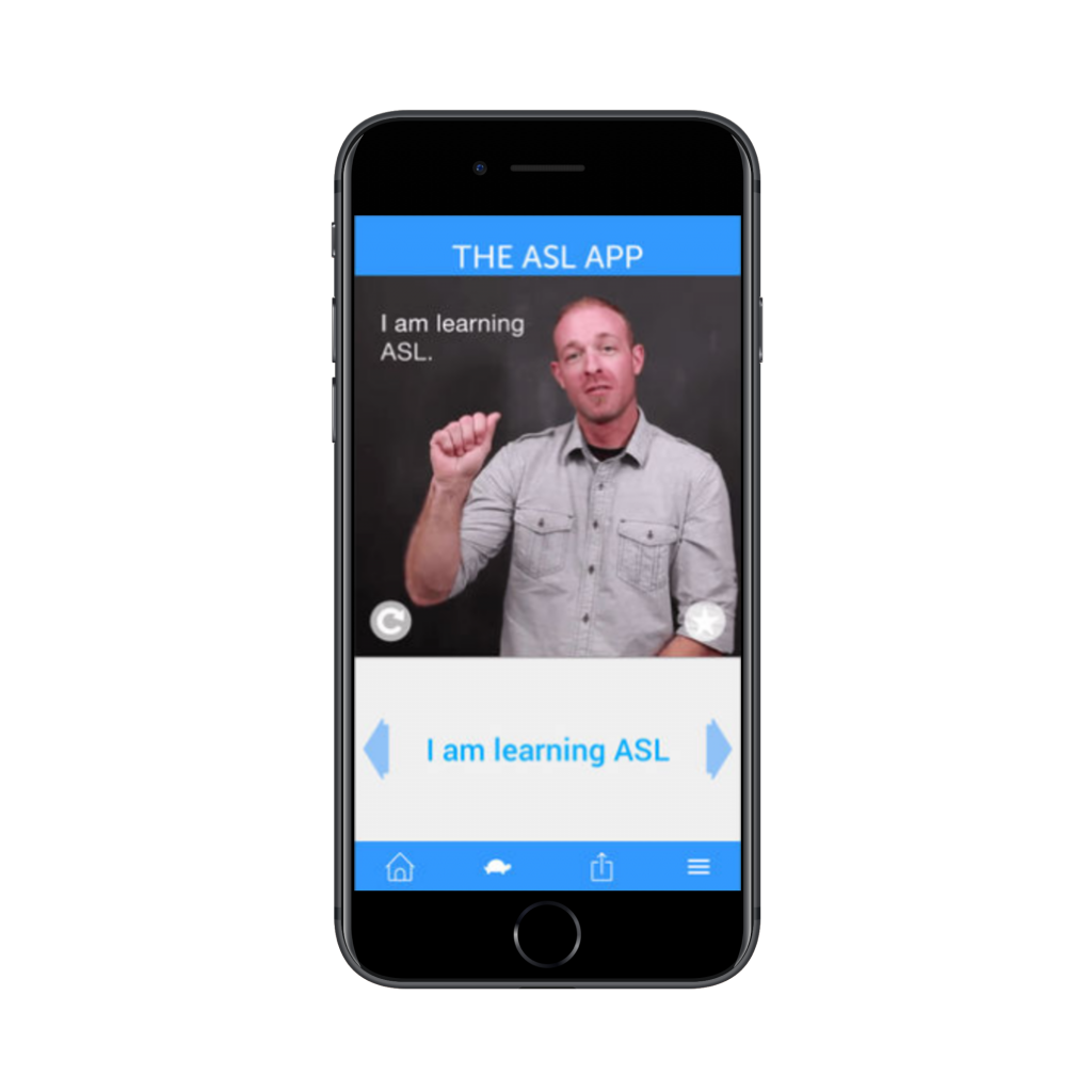man signing in asl app | deaf apps