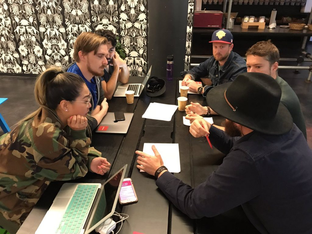 Fueled team hacking solutions to barriers at the refugee hack summit