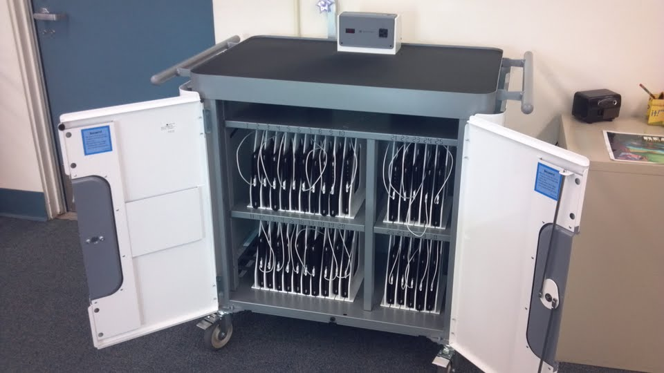 ipad cart an example of ed tech in classrooms