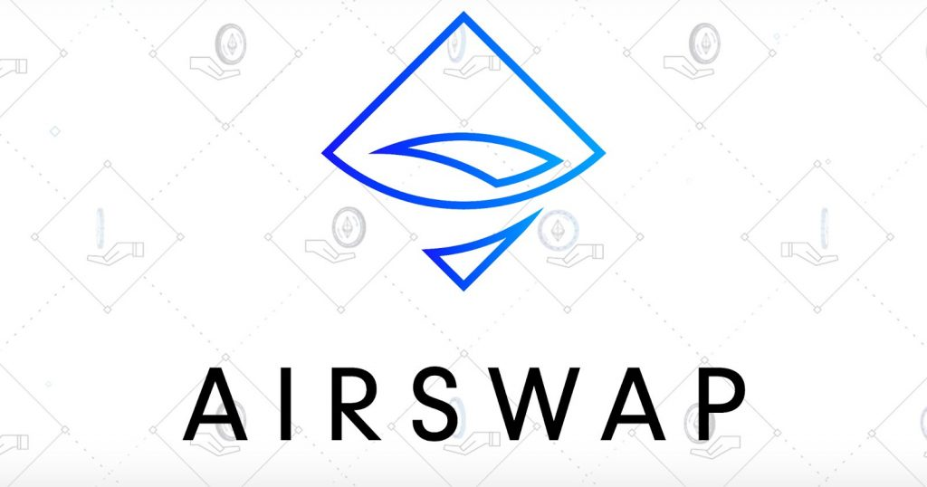 airswap dapp enterprise blockchain application app used to trade tokens and cryptocurrency enterprise