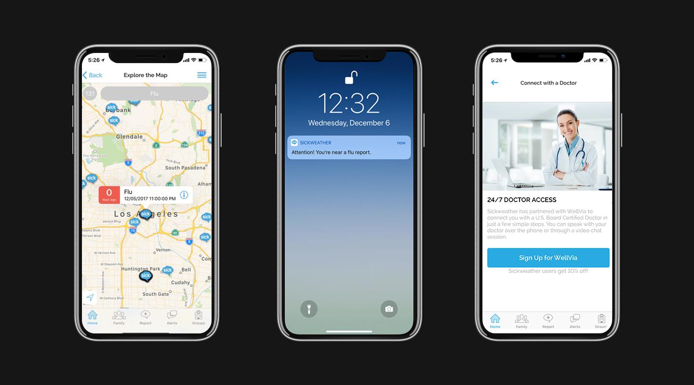 Screenshots_Sickweather_Mobile_App