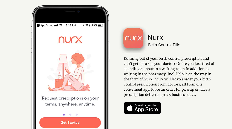 Nurx Birth Control App