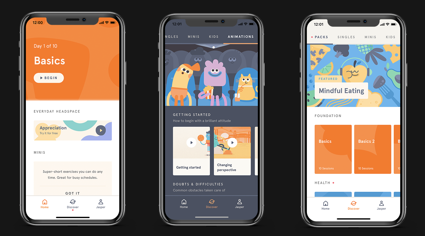 Headspace-Meditation-Mobile-App-Screenshots meditation app
