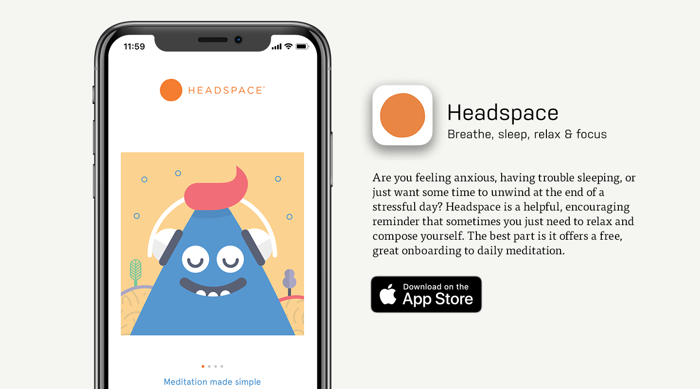 Best Meditation App: Headspace