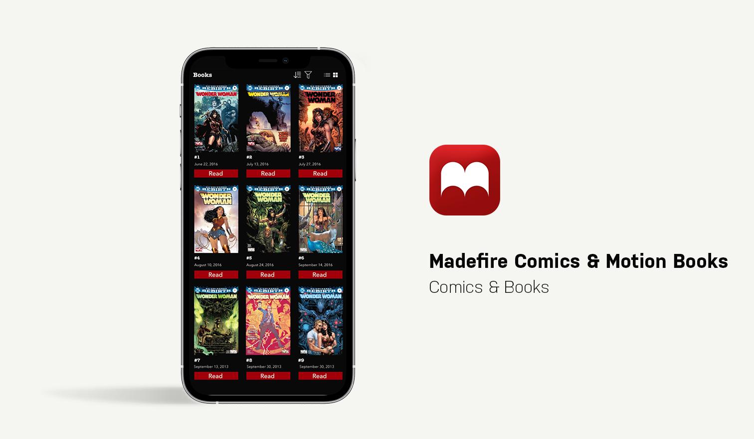 madfire comics app