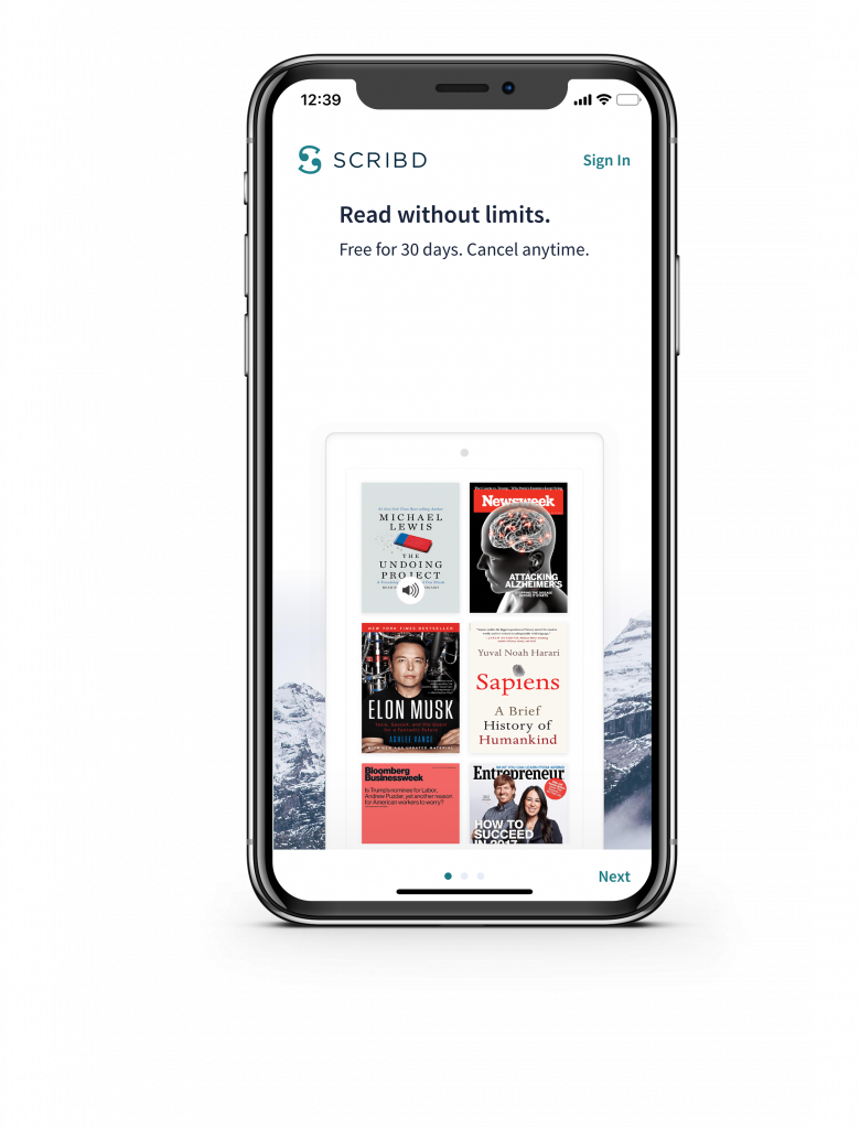 scribd best apps for book lovers